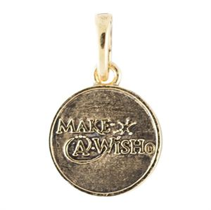 Picture of Gold Make-A-Wish Bangle Charm