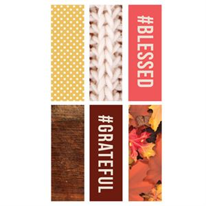 Picture of Fall Rectangle Locket Backdrops