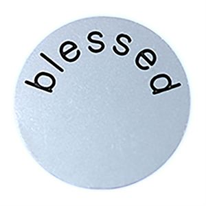 Picture of 'Blessed' Large Silver Coin